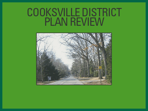 Cooksville District Plan Review